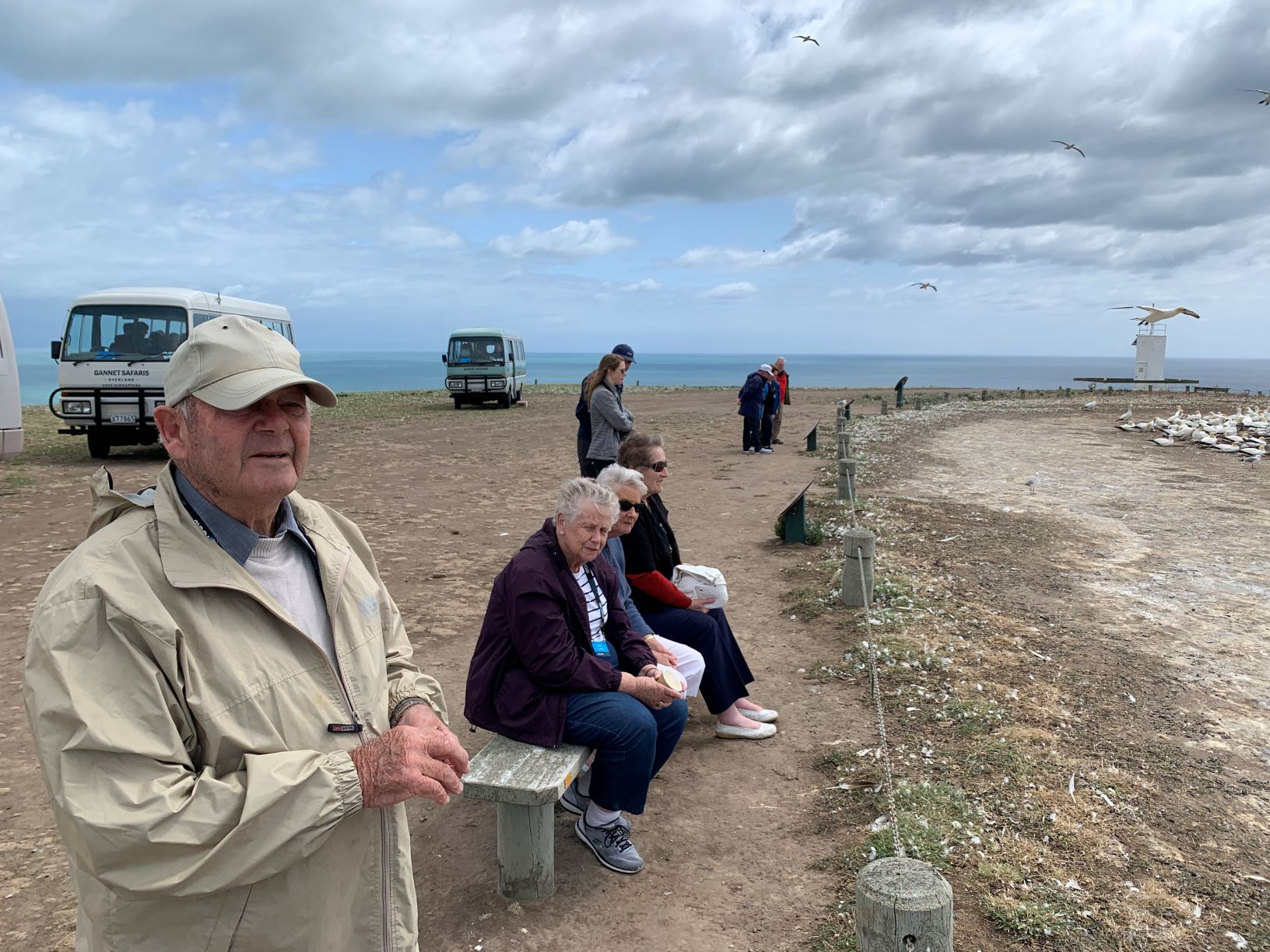 Captivated at Cape Kidnappers