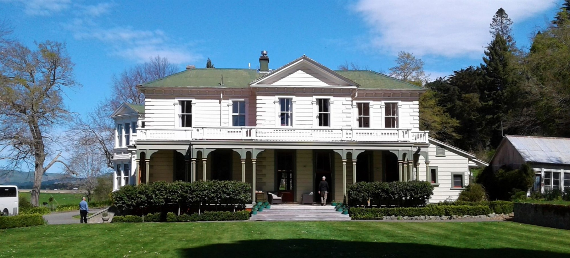 An super effort of restoration at Oruawharo Homestead -Takapau