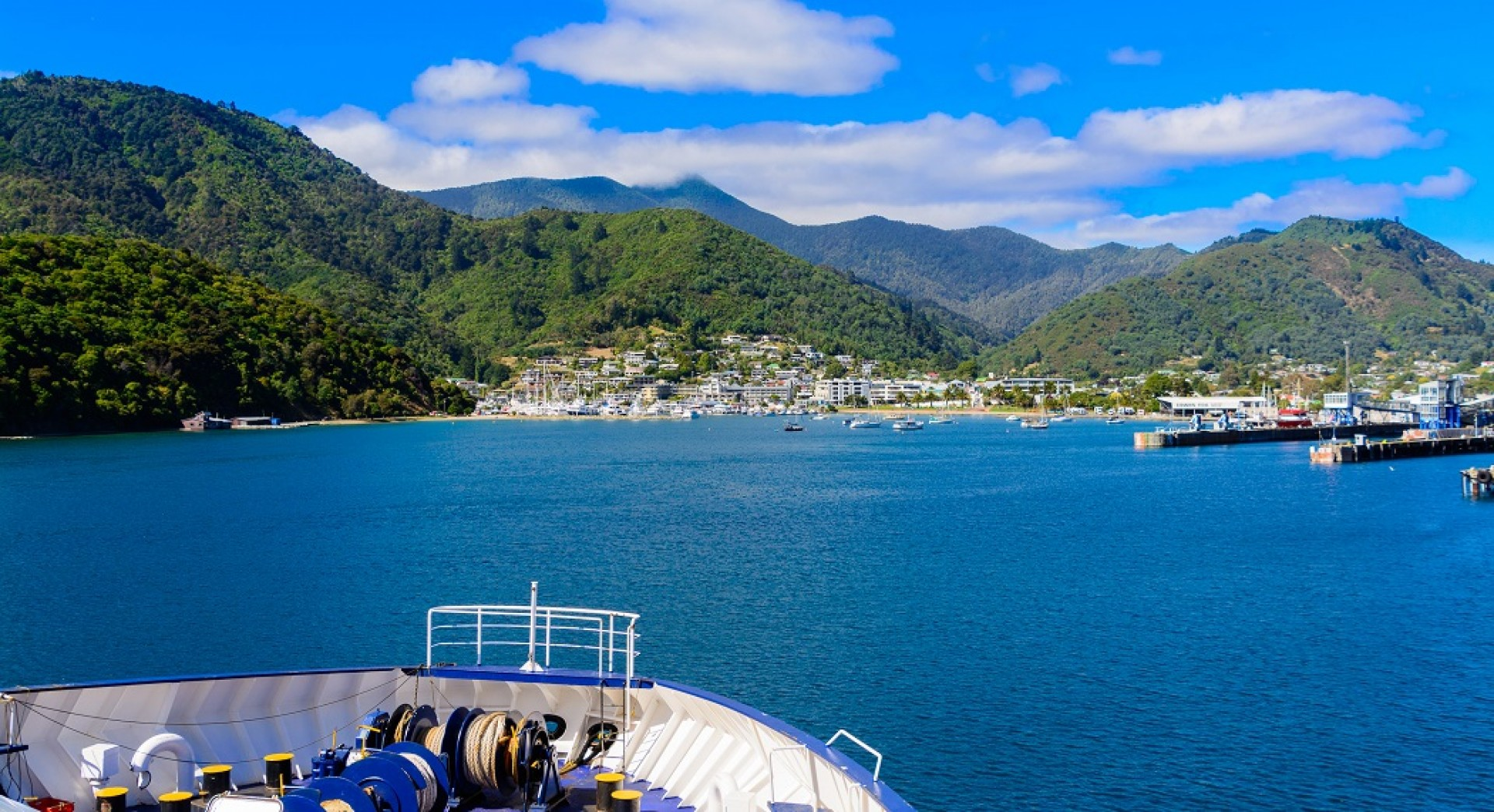 Marlborough Sounds - Planes Trains & Automobiles