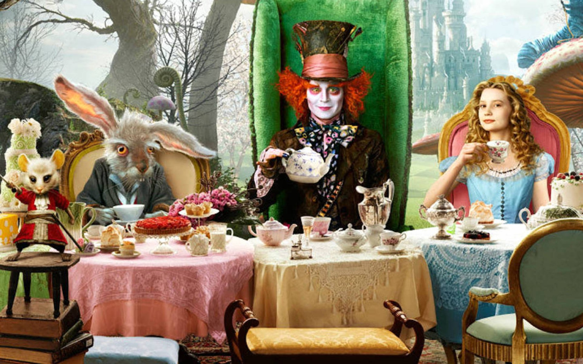 Mad Hatter's Tea Party Themed Lunch, Princess Gate Hotel