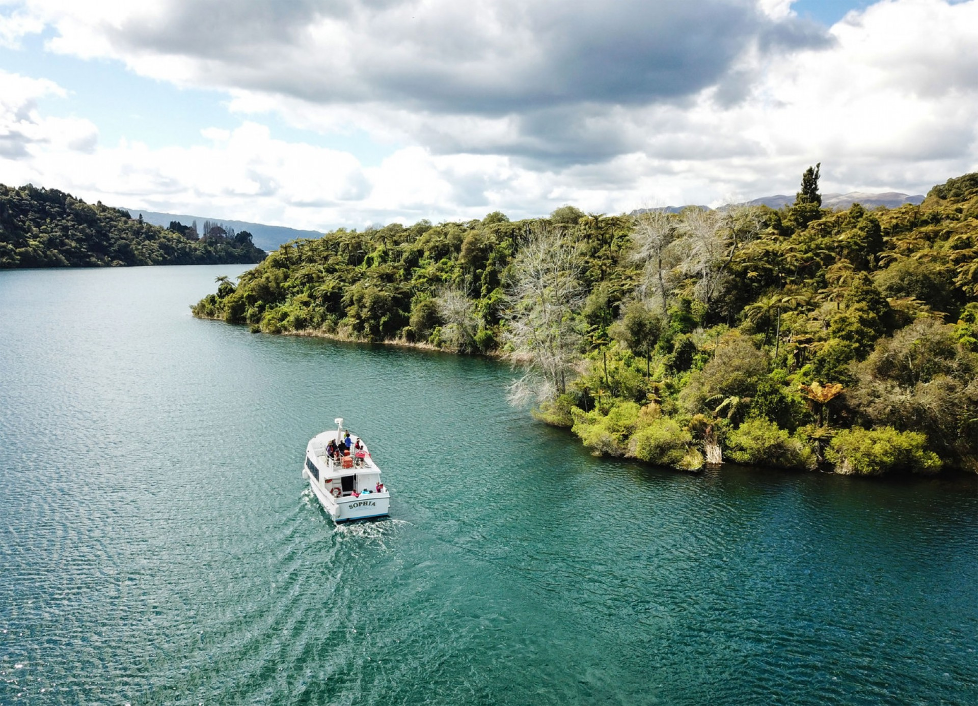 Lake Tarawera Cruise and Lunch